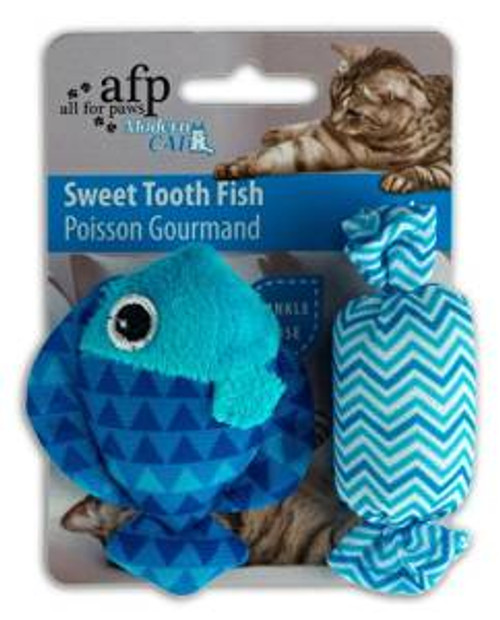 Afp Moderncat Sweettooth Fish 2pk (2151) {requires 3-7 Days before shipping out}