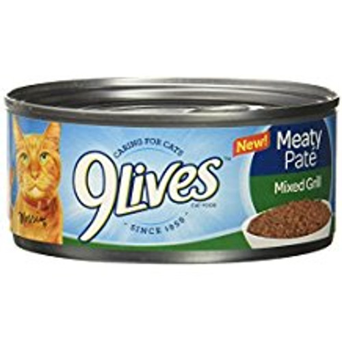 9live Mty Pate Can Cat 24/5.5 Oz Case