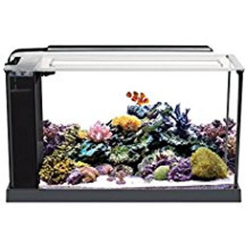 Don't Let Its Size Fool You. Evo Packs The Same Performance Features As A Tank Several Times Its Size, But Is Small Enough To Fit On Any Desk Or Counter Top. A Super Bright 11000k Led Provides Optimal Conditions For Healthy Coral Growth Color And Conditio