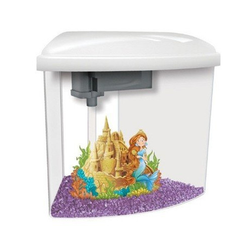 Illuminate Your Child's Imagination With The Marina Mermaid Aquarium Kit. Experience The Wonder Of Their Very Own Aquatic Creation, And Share In The Enchantment Of The Mermaids Underwater Adventures. Touch Sensitive Led Light And Easy Feed Opening Makes I