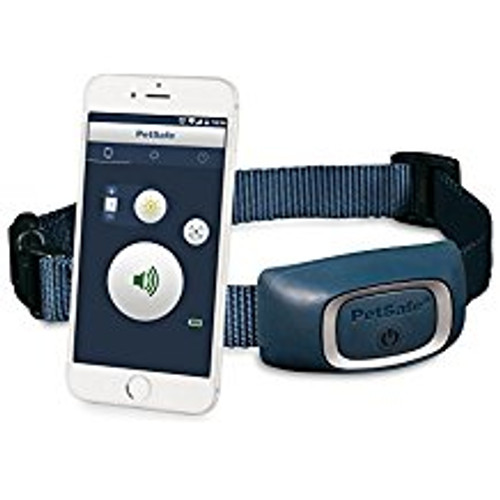 With the PetSafe Smart Dog Trainer, you can train your pup right from your smartphone. Once you download the SMART DOG Trainer app, your phone becomes a remote that controls the training collar. You #;ll be able to push a button on your phone to send a