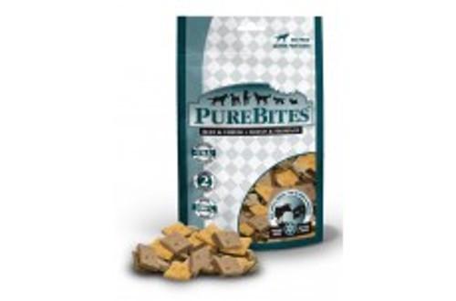 PureBites Beef & Cheese Dog Treats 4.2oz