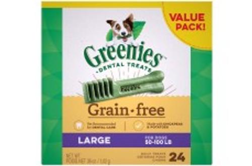 Greenies Grain Free Large 36oz