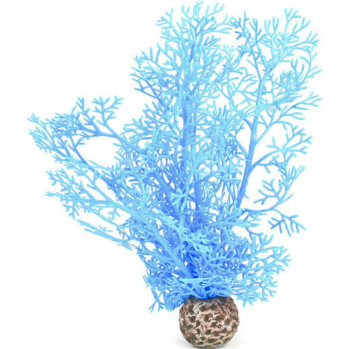 The biOrb Sea Fan is inspired by the delicate sea fans of Indonesia. Create natural security for your fish while allowing them to be viewed among the stems. These colorful sea fans would be a natural accent piece to your Saltwater biOrb. Use with the biOrb Sea Lily to compliment a biOrb aquarium sculpture. The small plants are suitable for all biOrbs and are 7.87 inches / 20 cm in height.