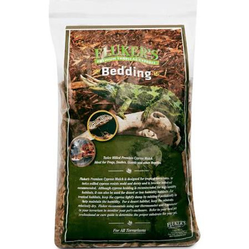 Tropical Cypress is for use in tropical terrariums.  Our twice-milled cypress resists mold and decay and is breeder tested and recommended.  Ideal for frogs snakes lizards and other reptile
