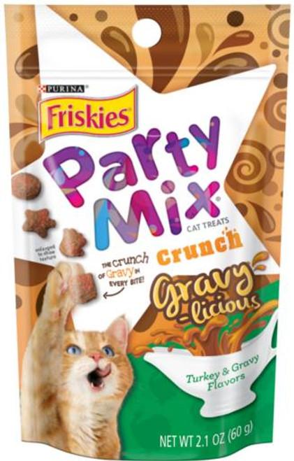 Friskies Party Mix Gravylicious Turkey 10/2.1Z