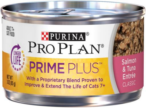 Pro Plan Prime+ Salmon/Tuna Entree Cat 24/3z