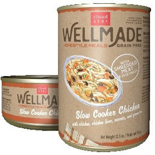 Grain Free Slow Cooker Chicken 12.5oz Can 12 Case