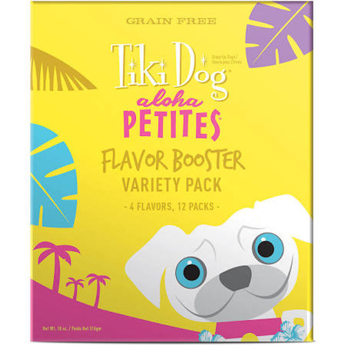Feeding The Same Thing Every Day Mix It Up! The Aloha Petites Flavor Booster Variety Pack Gives You Four Mouthwatering Flavors To Thrill Your Small Dog At Every Meal. Topping Dry Food With A Bisque Is A Great Way To Safely Switch Up Their Routine With Ne