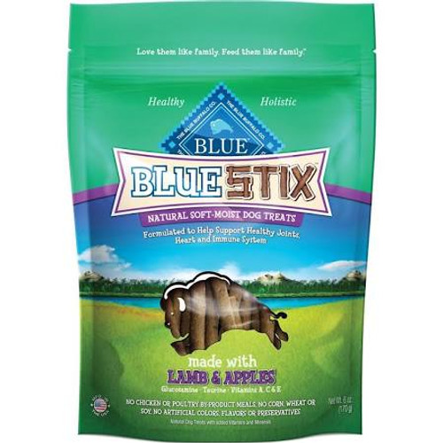 Yum  Pepperoni-style Blue Stix Made With Real Lamb! Another Tasty Training Treat To Inspire And Reward Your Best Friends Best Behavior.like All Blue Stix, These Wholesome Treats Never Contain Any Chicken (or Poultry) By-product