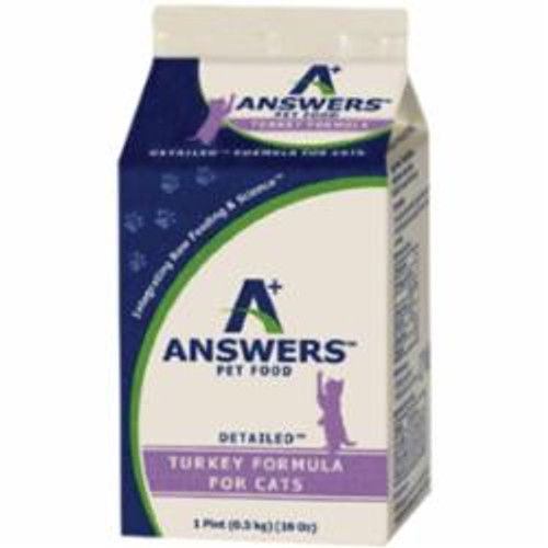 Answers Cat Frozen Detailed Turkey 1lb