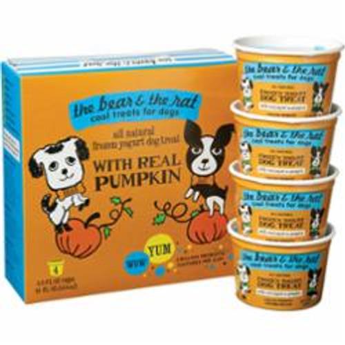 The Bear - The Rat Dog Frozen Pumpkin - Yogurt 3.5oz 4 Pack