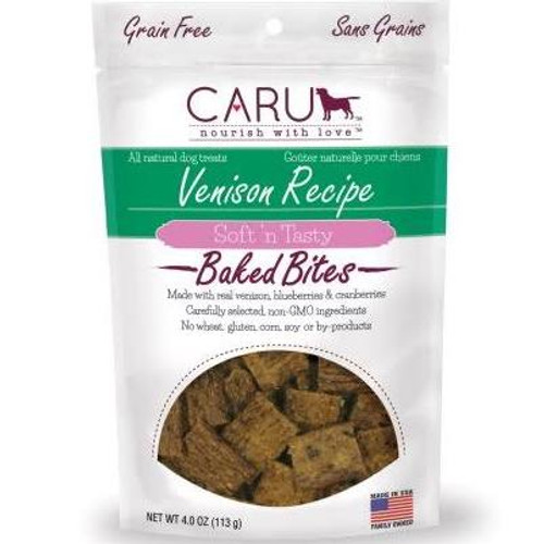 """At Caru, we're as passionate about the health and happiness of pets as you.  That's why we start with real meat or poultry as the first ingredient (no ingredients from China), and why these award-winning Soft 'n Tasty dog treats are made in the USA."""""""