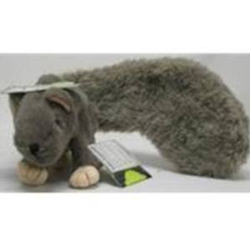 """HuggleHounds Feller Squirrel Dog Toy, Big Feller Squirrel After years of painfully watching squirrels taunt from afar, Bowser can finally have his way with the rodent family as the realistic look and feel of HuggleHounds Feller Squirrel Dog Toy will"""""""