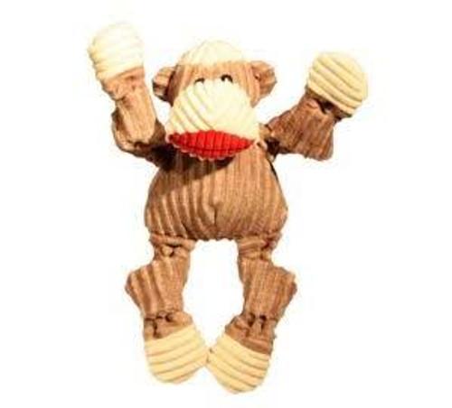 Hugglehounds Dog Knottie Sock Monkey Large