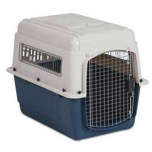 Petmate Ultra Vari Kennel Bleached Linen/coffee Grounds 40in 70-90lb