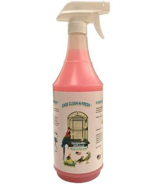 Safely Give Your Feathered Friends The Clean Home They Deserve With Clean-n-fresh. Cage Clean-n- Fresh Is An All-natural, 100% Avian Friendly Cage Cleaning Product. This Product Is Environmentally Safe, Non-acidic, And Fully Biodegradable.