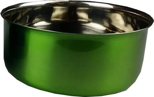 Perfect For Birds Dogs Cats And Small Animals. Hygienic Stainless Steel. Ideal For Wire Cages. Non-spill Design.