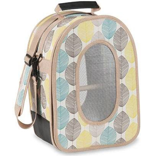 A& E Cage Soft Sided Bird Travel Carrier - Small Leaf {L-1}644003