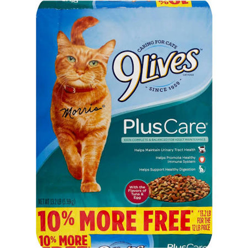 Caring For Cats Since 1959. With The Flavors Of Tuna - Egg. 100% Complete - Balanced For Adult Maintenance. Helps Maintain Urinary Tract Health. Helps Promote Healthy Immune System. Helps Support Healthy Digestion. 10% More Free (13.2 Lb For The 1