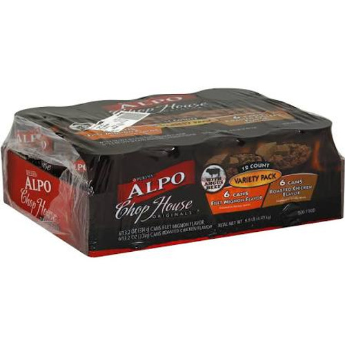 Made With High-quality Protein Sources And Essential Vitamins And Minerals, Alpo Chop House Is 100% Complete And Balanced For All Life Stages. To Give Your Dog The Taste He Enjoys And Quality Nutrition, Look To Alpo Chop House.
