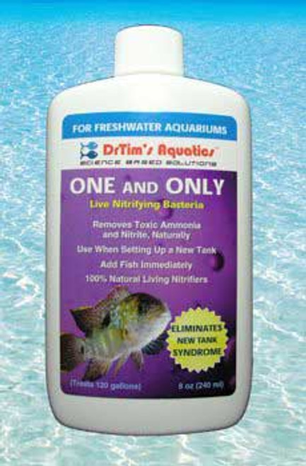 Dr. Tim's Aquatics One & Only Live Nitrifying Bacteria For Cycling Freshwater 4oz