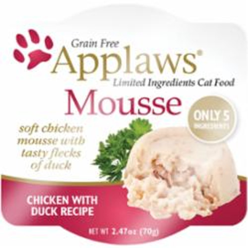 Applaws Cat Chicken - Duck Mousse 2.47oz