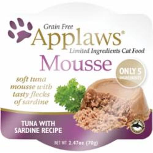Applaws Cat Tuna Mousse 2.47oz