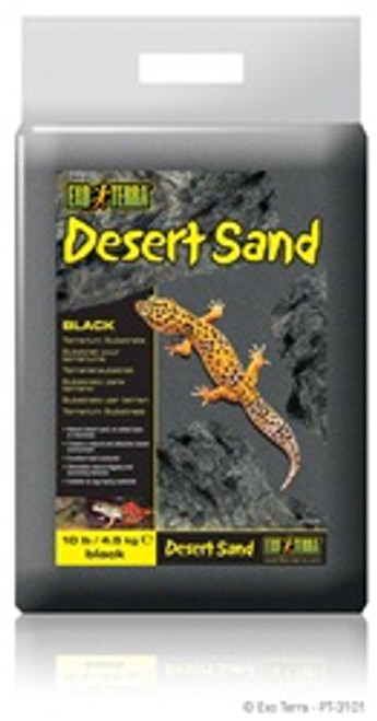 Exo-terra Desert Sand 10# Black {requires 3-7 Days before shipping out}