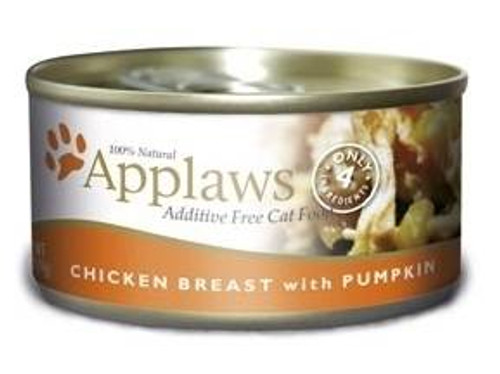 Applaws Chicken Breast With Pumpkin Contains Nothing More Than The Four Ingredients Listed. Applaws Is A Completely Natural Complementary Pet Food For Adult Cats.
