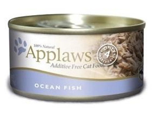 Applaws Ocean Fish Contains Nothing More Than The Four Ingredients Listed. Applaws Is A Completely Natural Complementary Pet Food For Adult Cats. We Guarantee That Our Fish Is Sea Caught Using Dolphin Friendly Methods.