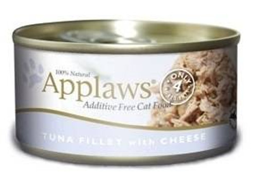 Applaws Tuna Fillet With Cheese Contains Nothing More Than The Four Ingredients Listed. Applaws Is A Completely Natural Complementary Pet Food For Adult Cats. We Guarantee That Our Fish Is Sea Caught Using Dolphin Friendly Methods.