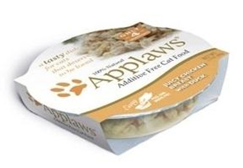 Applaws Juicy Chicken Breast With Duck Contains Nothing More Than The Ingredients Listed. Applaws Is A Completely Natural Complementary Pet Food For Adult Cats.
