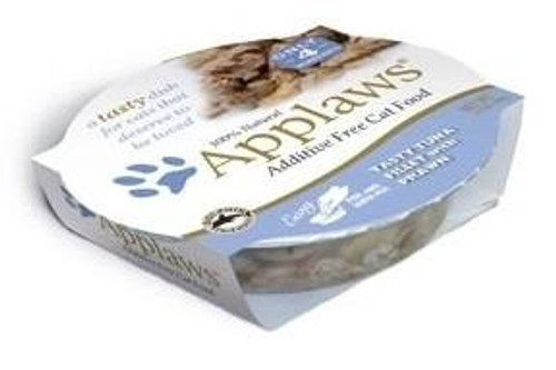 Applaws Tasty Tuna Fillet With Prawn Contains Nothing More Than The Ingredients Listed. Applaws Is A Completely Natural Complementary Pet Food For Adult Cats.