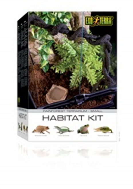 Exo Terra Rainforest Habitat Kit Small {requires 3-7 Days before shipping out}