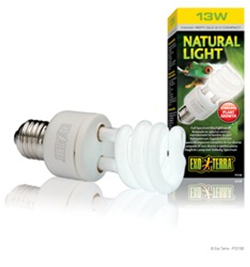 Exo Terra Natural Light- 13w {requires 3-7 Days before shipping out}