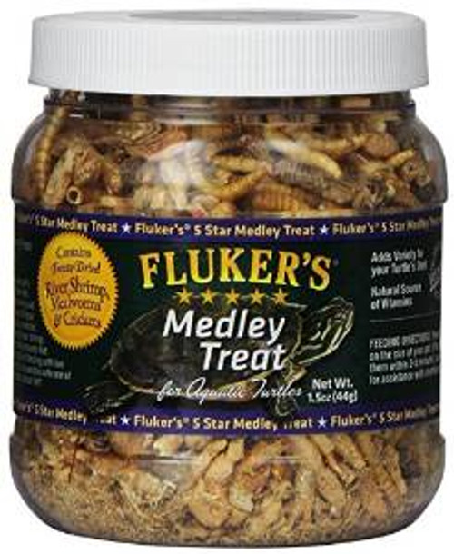 Fluker's Aquatic Turtle Medley Treat 1.5 Oz.