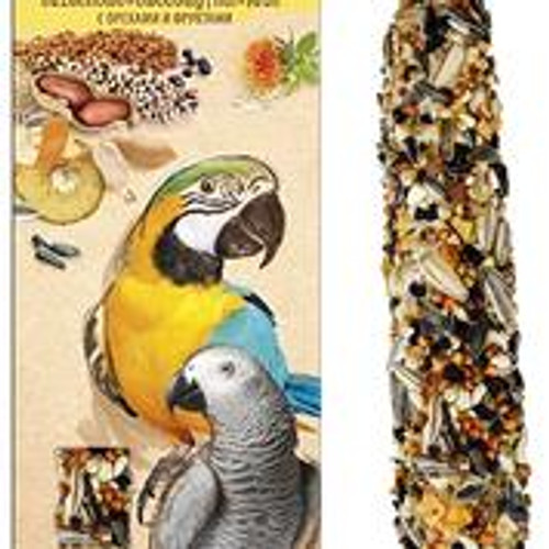 A& E Vitapol Smakers Parrot XXL Twin Pack Treat Stick - Nut 2 pack