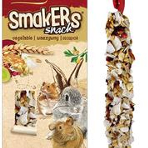 A& E Vitapol Smakers Chinchilla Twin Pack Treat Stick Coconut & Rose Petal 2 pack