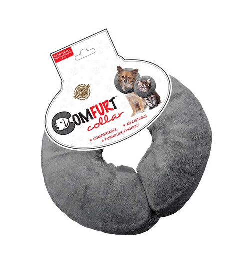 Arlee Comfurt Collar Poly Filled Adjustable E-Collar X-Small 5-7in Neck