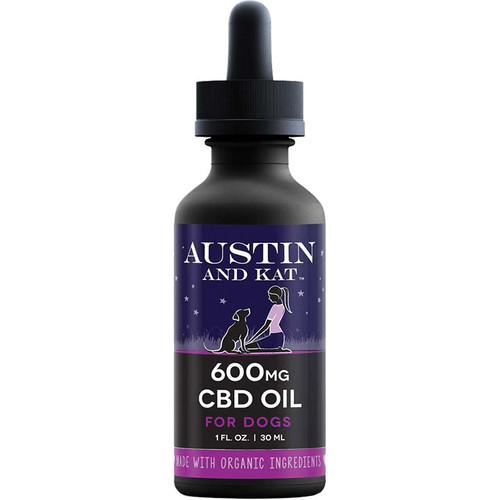 AUSTIN AND KAT DOG CAT CBD COCONUT OIL 600MG 1OZ