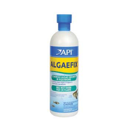 Aquarium Pharmaceuticals Algae Fix 16 Oz. Bottle