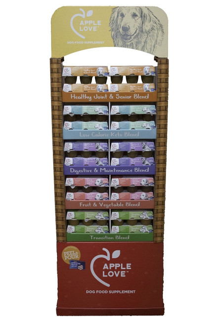 AppleLove Display 5 Flavors 40pc