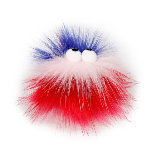 AFP Furry Ball Fluffy Ball, Red (2804)