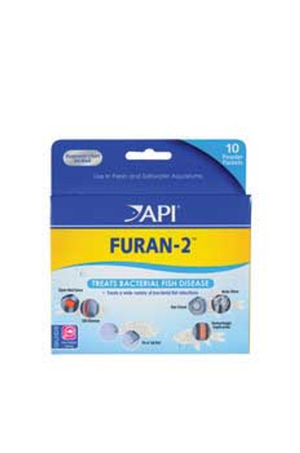 Aquarium Pharmaceuticals Furan-2 Powder Packet
