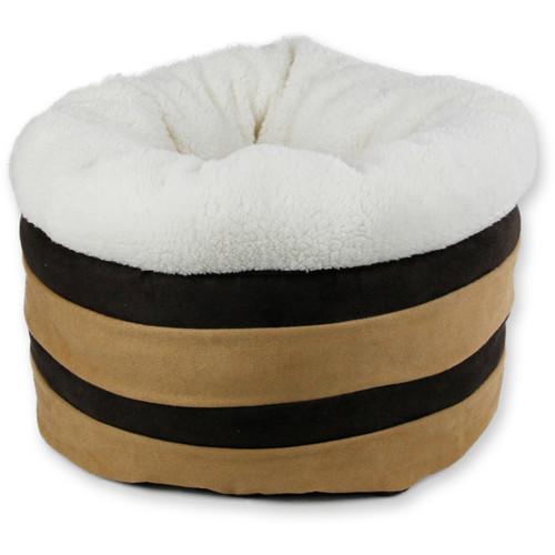"""AFP Honey Comb Bed, 18"""", Tan/Brown"""
