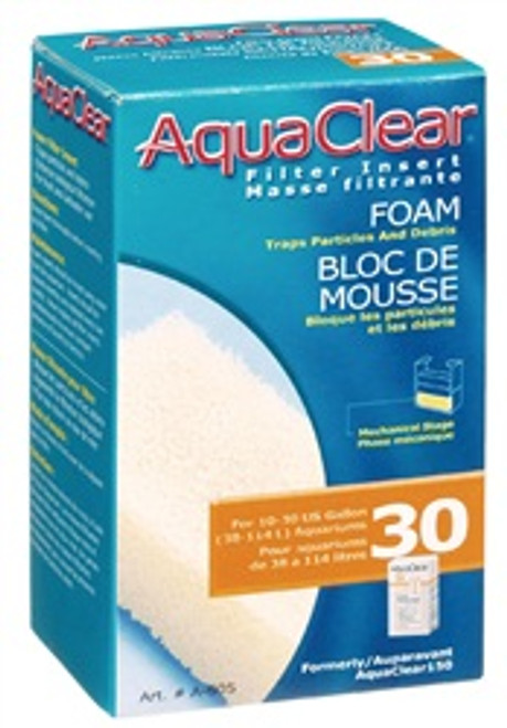Aqua Clear 30 (150) Foam Filter Insert{requires 3-7 Days before shipping out}