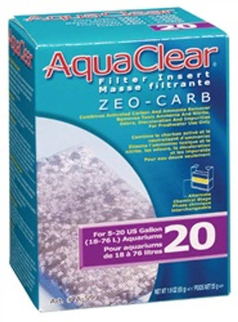 Aqua Clear 20 Zeo-carb {requires 3-7 Days before shipping out}