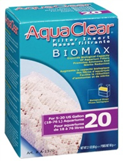 Aqua Clear Biomax F/a595 {requires 3-7 Days before shipping out}
