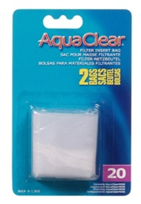 Aqua Clear Mini Nylon Bag (2/cd) {requires 3-7 Days before shipping out}